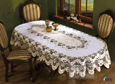 "Oval LaceTablecloths Wedding Table NEW  56""x100"" Table Covers Tea cloth Gift"