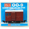 Peco GR-530UR Glyn Valley Tramway 4 Wheel Brake Coach Red OO-9 Gauge