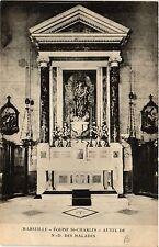 CPA MARSEILLE Eglise St-Charles Autel de N.D. des Malades (403225)