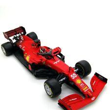 BBurago Burago Ferrari SF21 #55 Carlos Sainz Jr 2021 1/18 IN STOCK