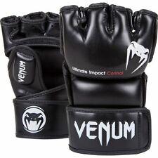 VENUM IMPACT MMA FINGERLESS GLOVES - BLACK - VARIOUS SIZES