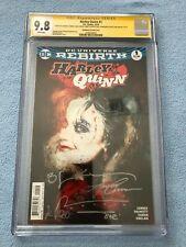 Harley Quinn #1 (Dec 2016 DC) Sienkiewicz Variant CGC SS 9.8 Signed 5X!