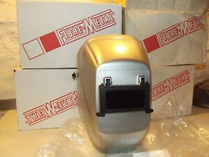 Lot of 4 Fibre-Metal by Honeywell Tigerhood Futura 2006SR  Futura Helmet, Silver