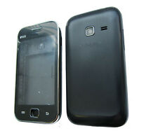 Fascia Housing Back Battery Cover For Samsung Galaxy Ace Duos GT S6802 Black UK