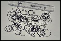Round Rubber Gaskets / Washers / O Rings / Seals for Watch Backs 16 - 32mm ASST