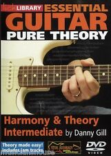 LICK LIBRARY ESSENTIAL GUITAR HARMONY & THEORY INTERMEDIATE Learn to Play DVD