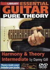 Fare clic su Libreria essenziale CHITARRA Harmony & teoria intermedio imparare a giocare DVD