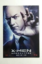 X-MEN APOCALYPSE JAMES MACAVOY PROFESSOR X MOVIE 4x6 MINI POSTER FLYER POSTCARD
