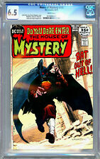 HOUSE OF MYSTERY #195 CGC 6.5 *1ST SWAMP THING PROTOTYPE* BERNIE WRIGHTSON 1971