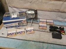 Panasonic VDR-D100 DVD Camcorder With  Charger and box mini dvds