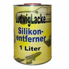 Silikonentferner 1Liter  Reiniger vor Autolack lackieren Ludwiglacke