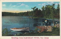 Postcard Greetings from Barnegat Pines New Jersey NJ