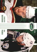 2003-04 Parkhurst Rookie Wild Hockey Card #78 C.Brandner/E.Perrin RC/500