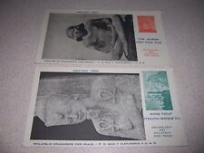 1960s PHILATELIC CRUSADERS for PEACE VTG POSTAGE STAMP POSTCARD LOT #2
