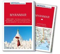 REISEFÜHRER MYANMAR 2016/17 MERIAN REIHE+ LANDKARTE; UNGELESEN, wie neu