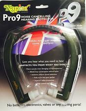 NAPIER PRO 9 EAR DEFENDERS HEARING PROTECTION SHOOTING NEW UK 2016 MODEL P9 PLUG