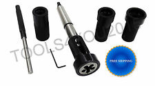 LATHE TAILSTOCK DIE HOLDER SET (Floating Type) : 2MT SHANK - HOLDS IMPERIAL DIES