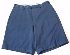 Brooks Brothers Chino Navy Blue Light Weight Advanced Twill Shorts Men's Size 34