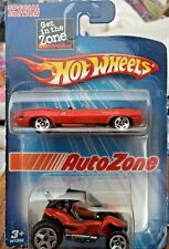 HOT WHEELS AUTO ZONE 2-PACK CUDA & BUGGY SPECIAL EDITION H7002 *NEW*