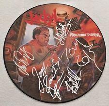 """Autographed Jackyl """"Push Comes to Shove"""" Picture Disc"""
