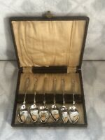 Vintage EPNS Boxed Apostle Teaspoons X6 Silver Plated Collectables