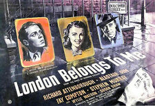 London Belongs to Me 1948 Richard Attenborough Gilliat Sim Vintage b/w Film DVD