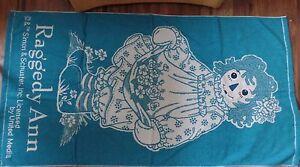 Rare Raggedy Ann & Andy  Towel sets - Beach Towels - Apple, Dolls, Ann