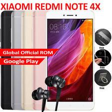 "5.5"" Xiaomi Redmi Note 4X 4GB+64GB/3GB+32GB Android 4G Smartphone Touch ID 2 SIM"