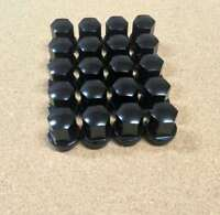 Set Of 20 Black Alloy Wheel Nuts To Fit Porsche Models - 964