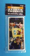 Nicktoons Attack of the Toybots DS Lite System Wrap PROMO Skin NEW in Package!
