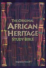 The Original African Heritage Study Bible: King James Version