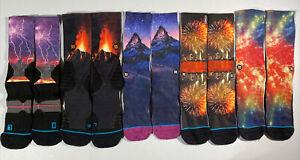 Stance socks 5 pair lot.