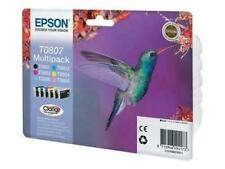 Cartucce Epson originali T0801 T0802 T0803 T0804 T0805 T0806 T0807 COLIBRI MULTI