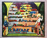 Rare ARCADE CAST IRON TOYS Metal Embossed Advertising Sign