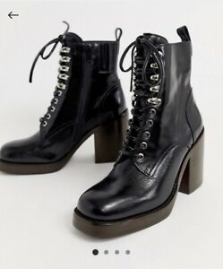 Jeffrey Campbell Military Boots, Size 6