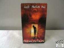 Premonition (VHS, 2000) Christopher Lloyd Cynthia Preston Adrian Paul
