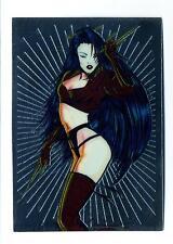 Comic Images 1995 Shi All Chromium Card #58 Sensual Sai