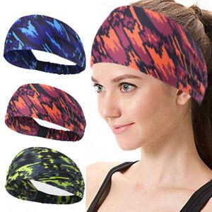 Fashion Men Women Fitness Sweatband Headband Yoga Gym Running Sports Head Band