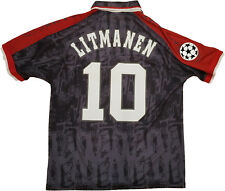 Litmanen Ajax Umbro Away UEFA champions League 1996 shirt jersey