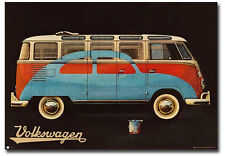 "VW Volkswagen Camper Paint Advert Fridge Toolbox Magnet Size 3.5"" x 2.5"""