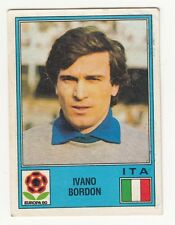 RARE 1980 PANINI IVANO BORDON EURO UEFA CUP UNUSED SOCCER STICKER !!