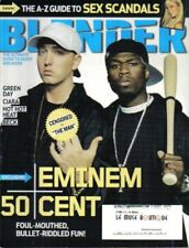 Like New BLENDER MAGAZINE May 2005 EMINEM & 50 CENT + GREEN DAY CIARA + THE A-Z