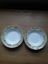 Wedgwood Floral Tapestry Large Bowls Beautiful Condition.