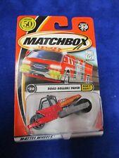 Matchbox Mattel Wheels Road Roller Paver Build It Right #20/75