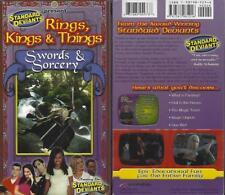 VHS: STANDARD DEVIANTS  RINGS, KINGS & THINGS SWORDS & SORCERY....NEW