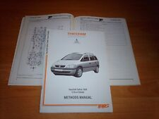 Body Repair Manual Vauxhall Zafira 1999 on