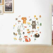 Animals Wall Sticker For Kids Rooms Wall Decal Nursery Room Window Home Decor