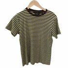 Sportscraft Tops Women Size M Short Sleeved Striped Pure Cotton Casual Excellent