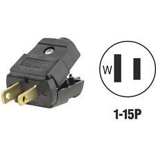 Leviton Blk 15A Plug