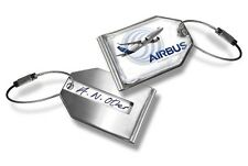 Airbus A320 Crew Luggage Tag
